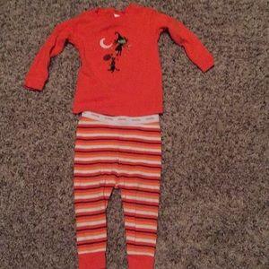 Baby gap 6-12 Fall Halloween pajamas unisex